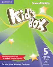 Kid's Box 2nd Edition 5 Activity Book with Online Resources