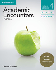 Academic Encounters 2nd Edition 4 Student\'s Book Listening and Speaking with Integrated Digital Learning