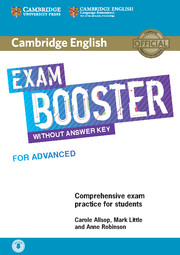 Cambridge English Exam Booster for Advanced Student\'s Book without Answer Key with Audio