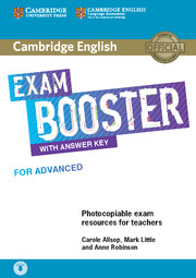 Cambridge English Exam Booster for Advanced Teacher\'s Book with Answer Key with Audio