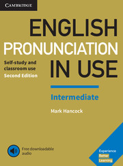 English Pronunciation in Use Intermediate 2nd Edition Book with Answers and Downloadable Audio