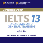 Cambridge IELTS 13 Academic and General Training Audio CDs (2)