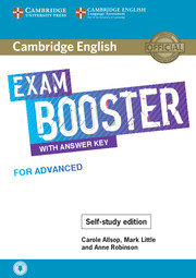 Cambridge English Exam Booster for Advanced with Answer Key - Self-study Edition