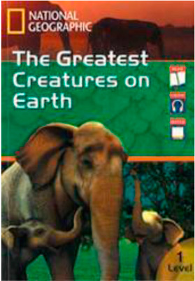 Footprint Reading Library 3-in-1 Combination Readers 1 The Greatest Creatures on Earth