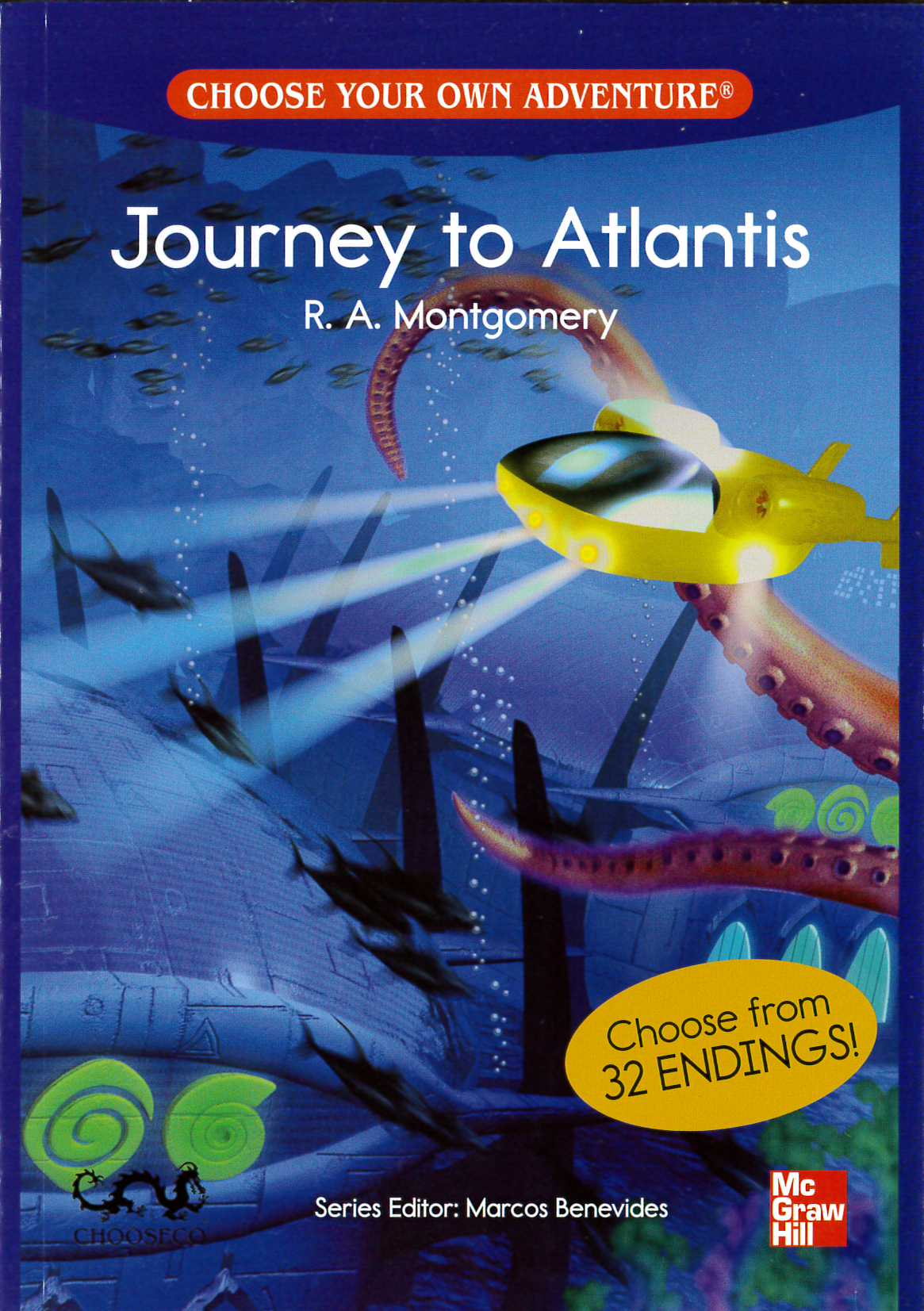 Choose Your Own Adventure 500 Headwords Journey to Atlantis
