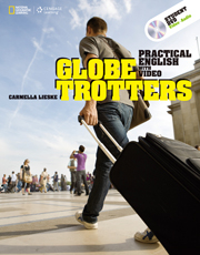 Globe Trotters Practical English with Video Student Book with DVD