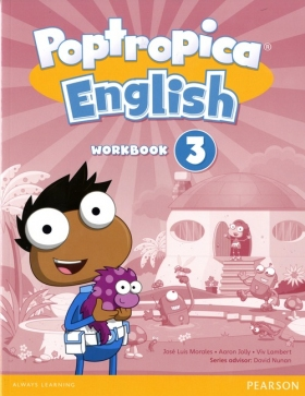 Poptropica English 3 Workbook with Audio CD