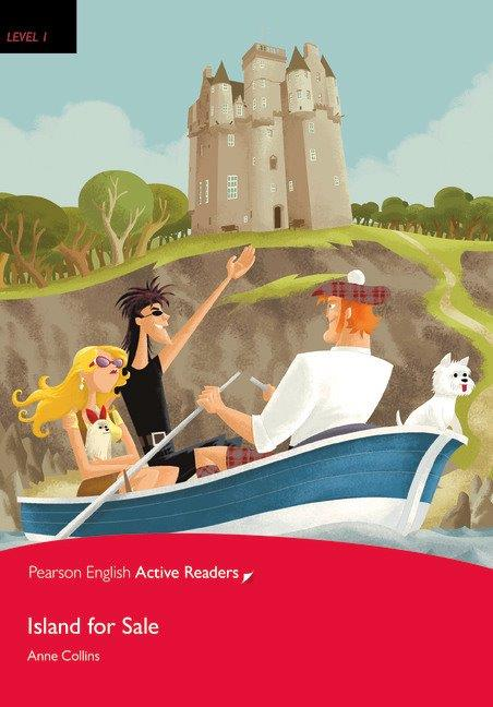 Pearson English Active Readers Level 1 Island for Sale with MP3