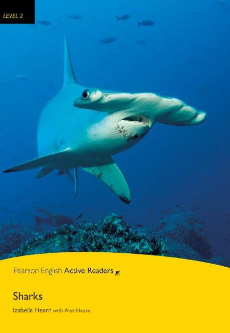 Pearson English Active Readers Level 2 Sharks with MP3