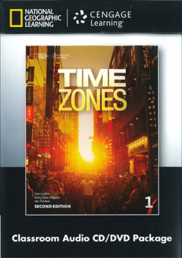 Time Zones Second Edition 1 Classroom Audio CD and DVD