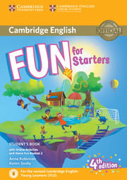 Fun for Starters 4th Edition Student's Book with Home Fun Booklet and Online Activities