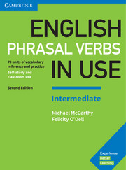 English Phrasal Verbs in Use 2nd Edition Book with answers Intermediate