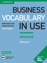 Business Vocabulary in Use 3rd Edition Advanced Book with Answers and Enhanced ebook
