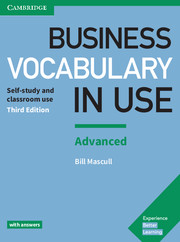 Business Vocabulary in Use 3rd Edition Advanced Book with Answers