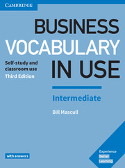 Business Vocabulary in Use 3rd Edition Intermediate Book with Answers