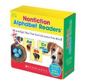 Nonfiction Alphabet Readers Parent Pack (26 Books & CD)