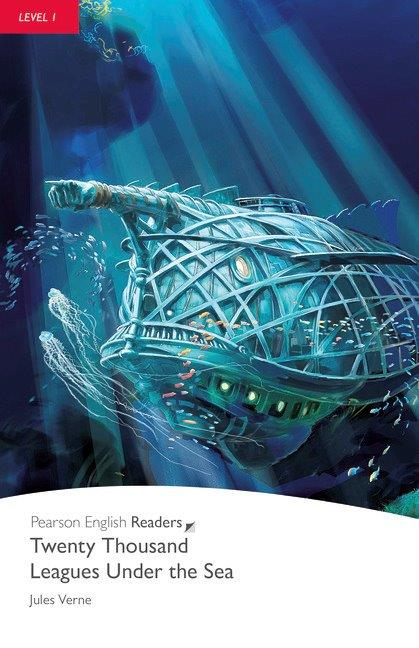 Pearson English Readers Level 1 Twenty Thousand Leagues under the Sea with CD