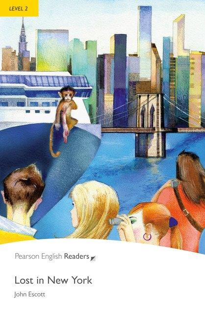 Pearson English Readers Level 2 Lost in New York with MP3