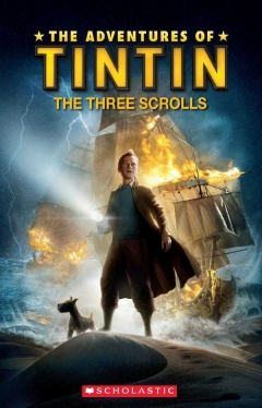 Scholastic ELT Readers Level 1 Tintin: The Three Scrolls (with CD)