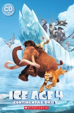 Scholastic Popcorn Readers Level 1 Ice Age 4: Continental Drift (with CD)