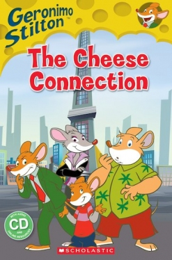 Scholastic Popcorn Readers Starter Geronimo Stilton: The Cheese Connection (with CD)