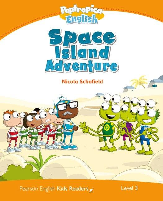 Pearson English Kids Readers Level 3 Space Island Adventure