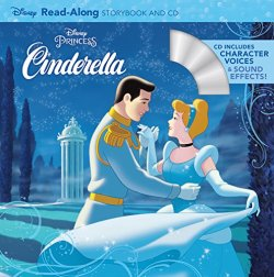 Disney Read-Along Storybook & CD: Cinderella (CD付き絵本)