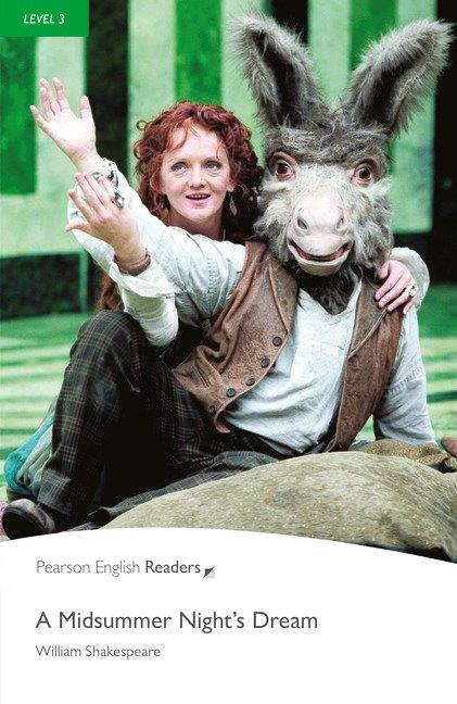 Pearson English Readers Level 3 A Midsummer Night's Dream with MP3