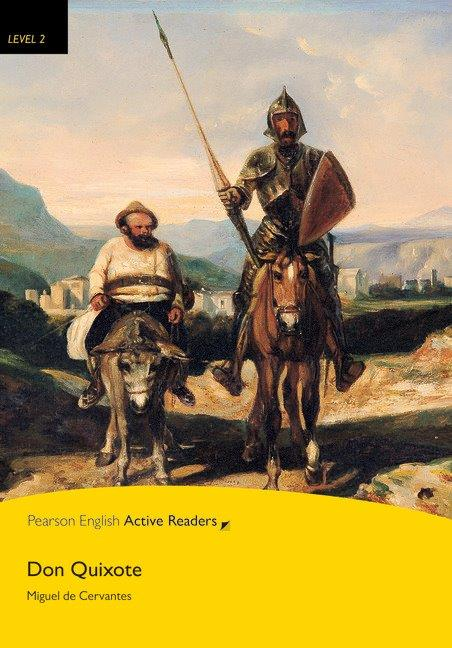 Pearson English Active Readers Level 2 Don Quixote with MP3