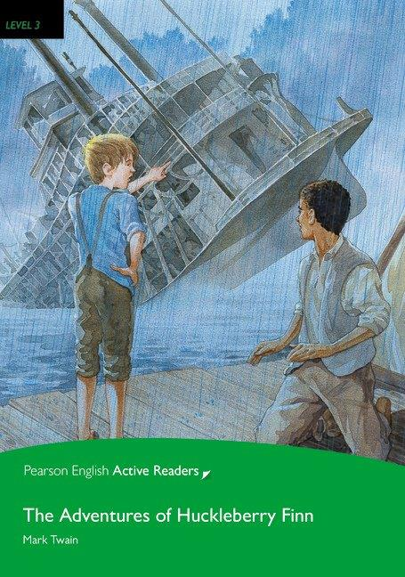 Pearson English Active Readers Level 3 The Adventures of Huckleberry Finn with MP3