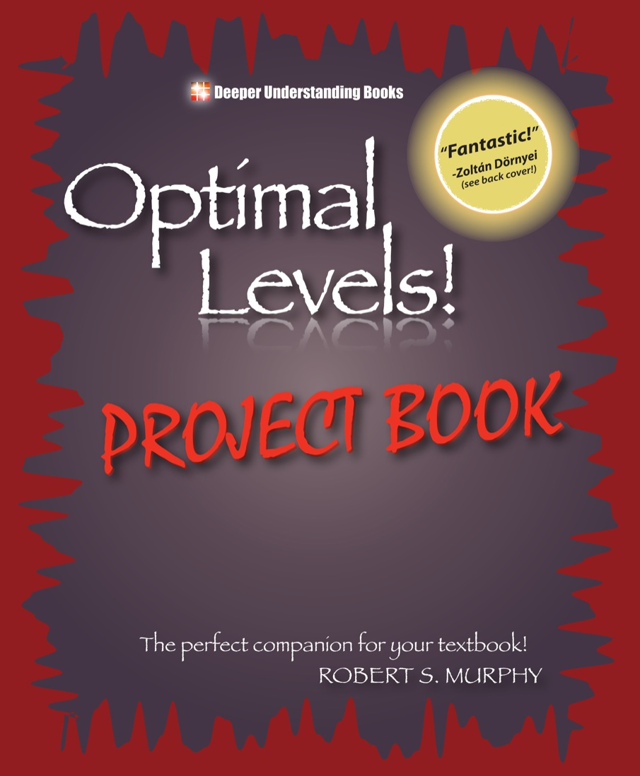 Optimal Levels!: Project Book 1