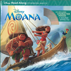 Disney Read-Along Storybook & CD: Moana モアナと伝説の海(CD付き絵本)