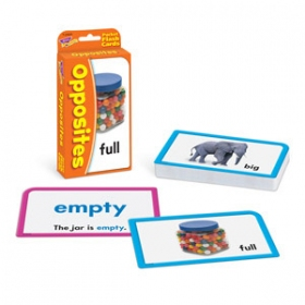 Trend Pocket Flashcards: Opposites