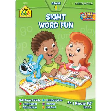 Deluxe I Know It! Sight Word Fun (02244/05DPI12)