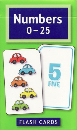 School Zone Flashcards Numbers 0-25 (04022/03MPS12)
