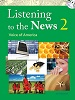 Listening to the News SB W/MP3: Voice of America 2
