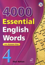 4000 Essential English Words Book 4 with Answer Key