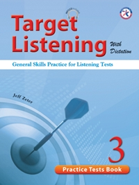 Target Listening with Dictation Practice Tests Book 3
