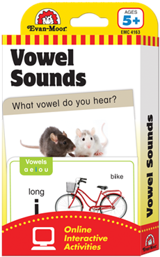 Evan-Moor Flashcards - Vowel Sounds