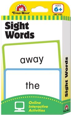 Evan-Moor Flashcards - Sight Words