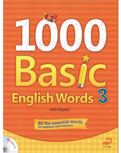 1000 Basic English Words 3 with Audio CD