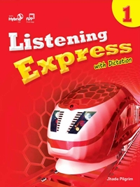 Listening Express 1 Student Book with Dictation Book & Student Digital Materials CD