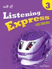 Listening Express 3 Student Book with Dictation Book & Student Digital Materials CD