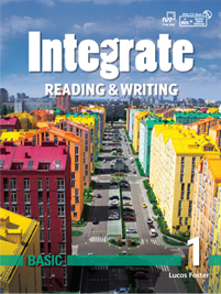 Integrate Reading & Writing Basic 1 Student Book with Practice Book and Student Digital Materials CD