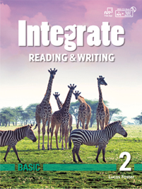 Integrate Reading & Writing Basic 2 Student Book with Practice Book and Student Digital Materials CD