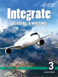 Integrate Reading & Writing Basic 3 Student Book with Practice Book and Student Digital Materials CD