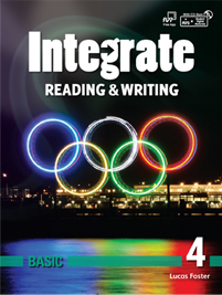 Integrate Reading & Writing Basic 4 Student Book with Practice Book and Student Digital Materials CD
