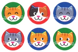 SuperSpots Stickers: Purr-fect Pets