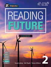 Reading Future Change 2 Student Book with Workbook and Student Digital Materials CD