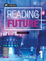 Reading Future Create 1 Student Book with Workbook and Student Digital Materials CD